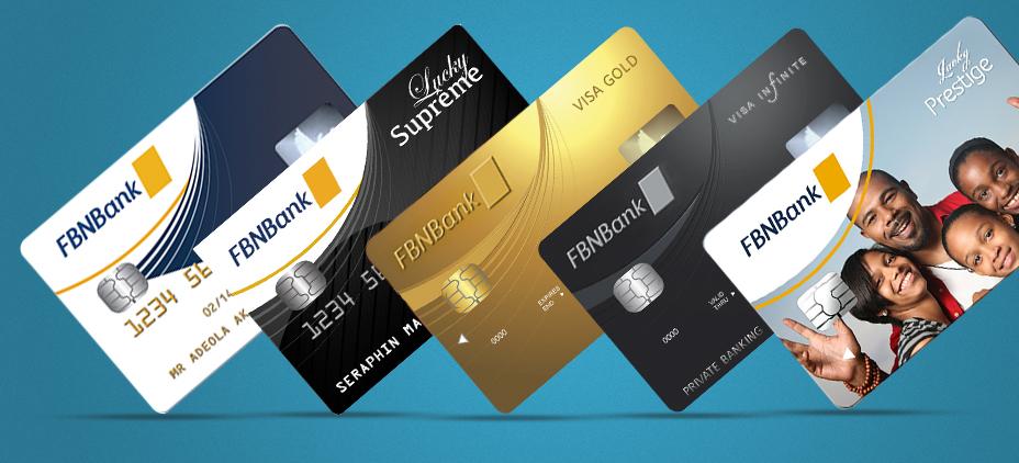 Cartes Débit et de crédit, cartes prépayées   FBNBank DRC SA